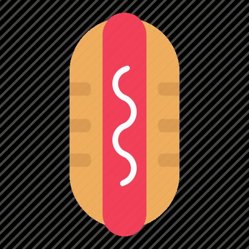 fast food, food, hotdog, sausage icon