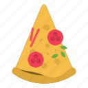 cheese, fast food, food, pizza, pizza slice icon