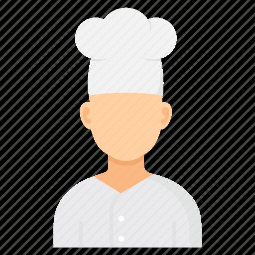 Cook, waiter, chef, cooking, kitchen, restaurant icon - Download on Iconfinder