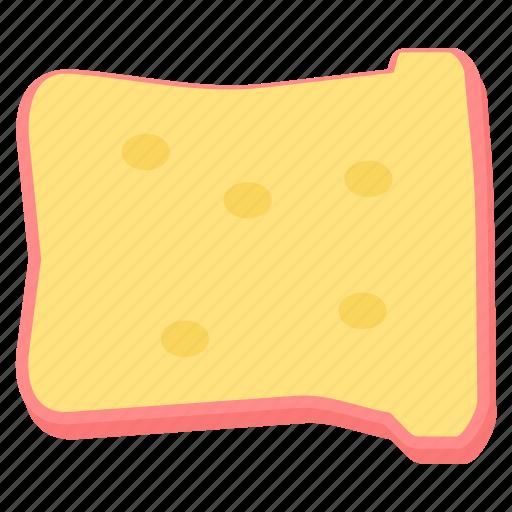 bread, breakfast, food, meal, toast icon