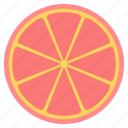 citrus, juice, lemon, lime, slice icon