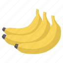 banana, diet, food, fresh, fruit, healthy icon