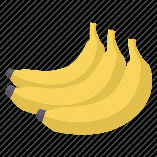 banana, diet, food, fresh, fruit, healthy icon
