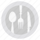 dinner, kitchen, restaurant, utensil icon