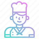 avatar, chef, cook, cooking, kitchen, restaurant icon