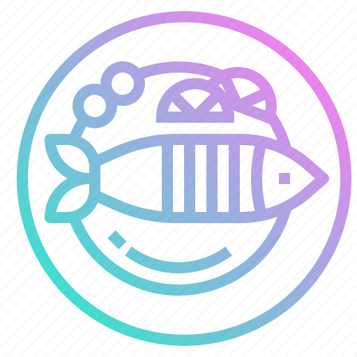 fish, food, fried, steak, steam icon