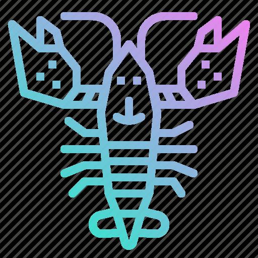 animal, food, lobster, sea icon