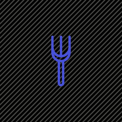 eat, food, fork, meat, noodle icon
