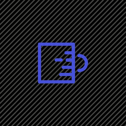 cofffe, cool, glass, hot, mug, restaurant, water icon