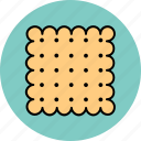 cracker, food, snack icon