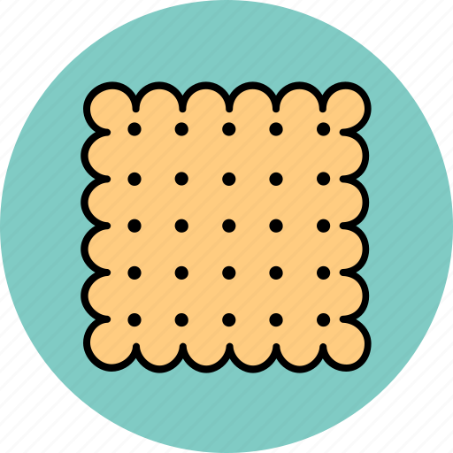 cracker, food, snack icon