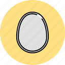 boiled, breakfast, egg icon