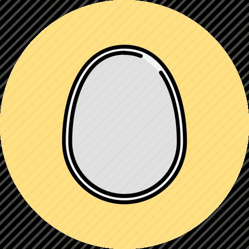 boiled, breakfast, egg icon