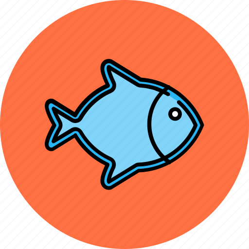 fish, food, healthy, sea icon