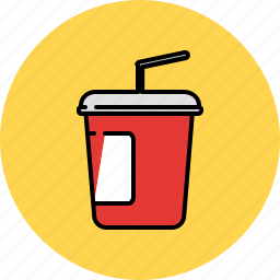 carrier, cold, drink, hot, straw icon