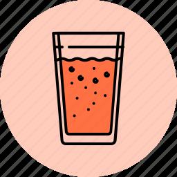 drink, glass, juice, lemonade icon