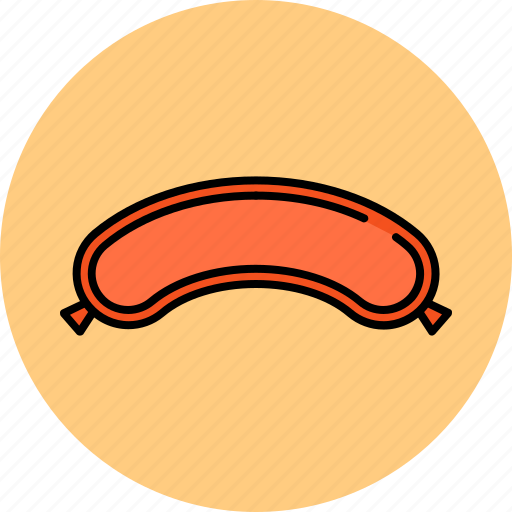 beef, breakfast, meat, sausage icon
