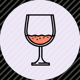 alchohol, brandy, drink, glass, wine icon