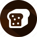 bread, breakfast, cook, eating, food, meal, toast icon