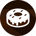 cake, chocolate, dessert, donut, sweet, sweets icon