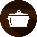 cooking, eating, food, hot, kitchen, meal, pot icon