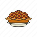 bake, cake, dessert, food, pie icon, sweet icon
