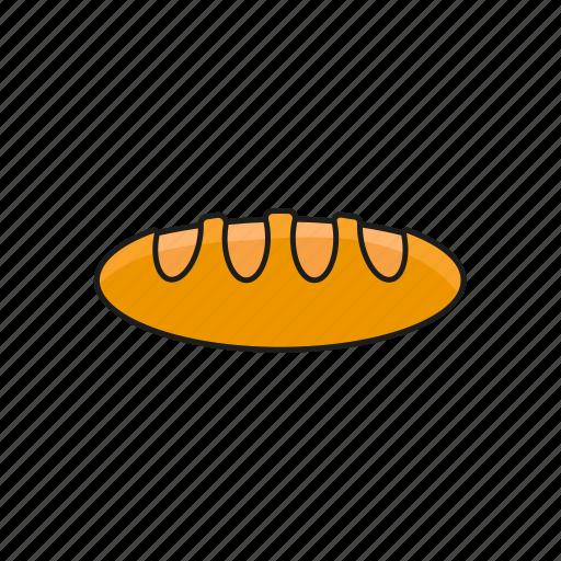 bake, baking, bread, food, food icon icon