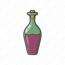alchohol, bottle, drink, food, wine icon icon icon