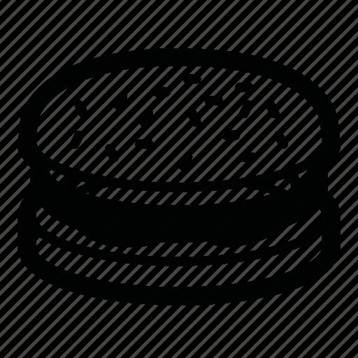 bun, burger, cutlet, fast food, food, hamburger, tomato icon