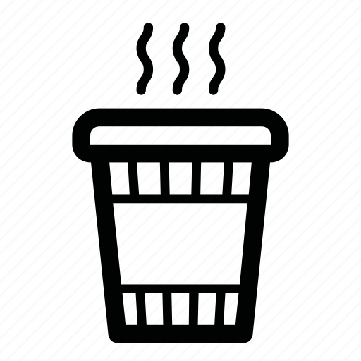 coffee, drink, hot, paper cup, tea, to go, warm icon