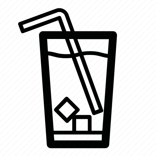 cocktail, cold, cold drink, drink, ice, ice drink, tubule icon