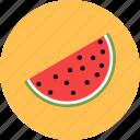 food, fruit, watermelon icon icon