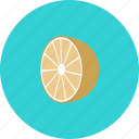 food, fruit, lemon icon icon