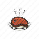 barbecue, beef, food, meat, steak icon icon