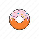 donut, food, meal, sweets icon icon