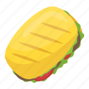 baguette, baguette sandwich, bread, food, french bread icon