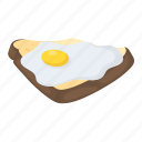 egg and toast, egg sandwich, breakfast, brunch, fried egg sandwich