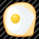 food, egg, breakfast, fried egg, fry egg icon