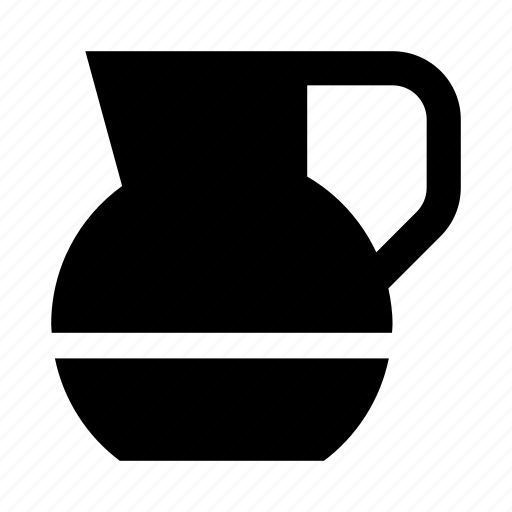 carafe, decanter, drink, jug, pitcher icon