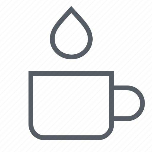 coffee, cup, drink, milk icon