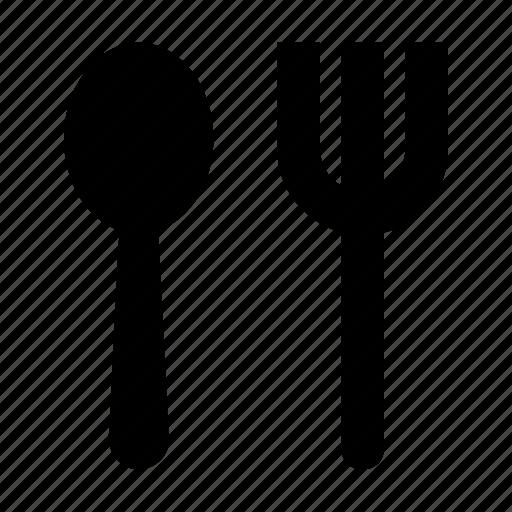 cutlery, flatware, fork, spoon, utensils icon