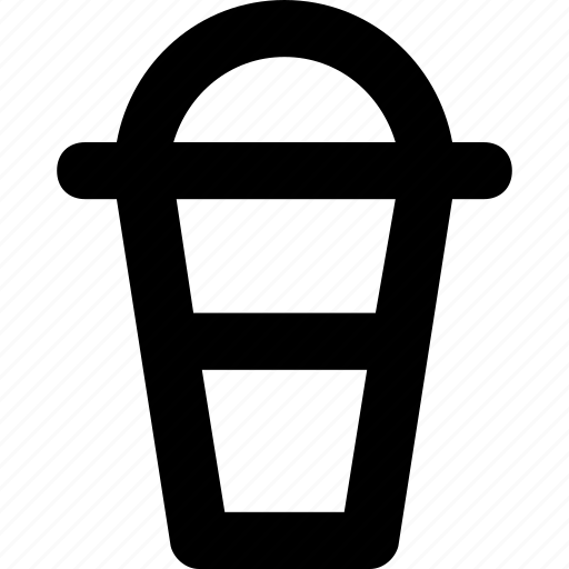 cold coffee, disposable, juice cup, smoothie, take away icon