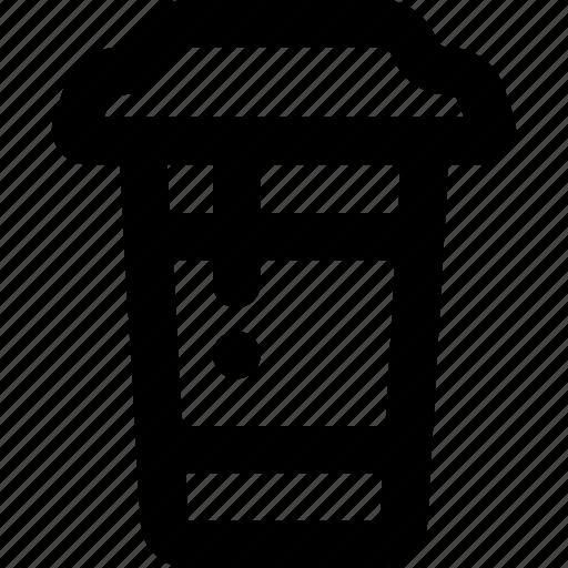 coffe, latte, to go icon