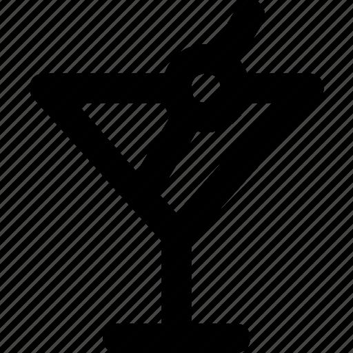 alcohol, martini icon