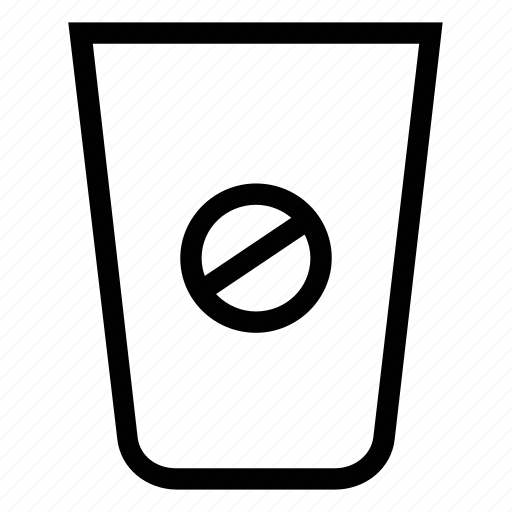 coffee, coffee beans, drink, forbidden drink, hot drink icon