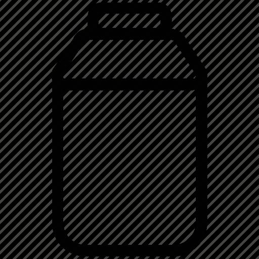 bottle, cooking oil, drink, food, milk, milk bottle icon