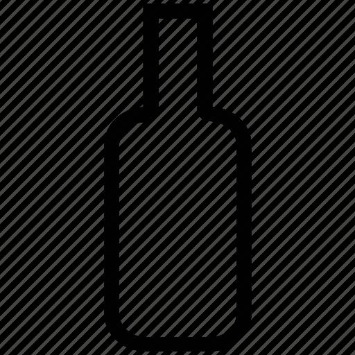 bottle, drink, drink bottle, vodka bottle, whiskey bottle, wine bottle icon