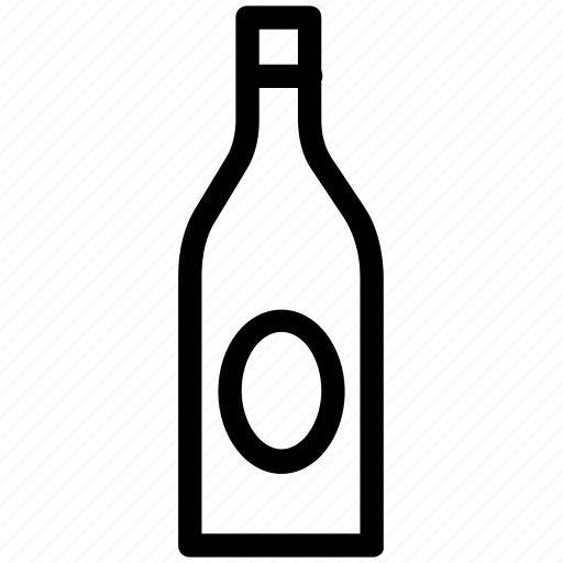 alcohol, beverage, bottle, drink, whiskey, wine icon