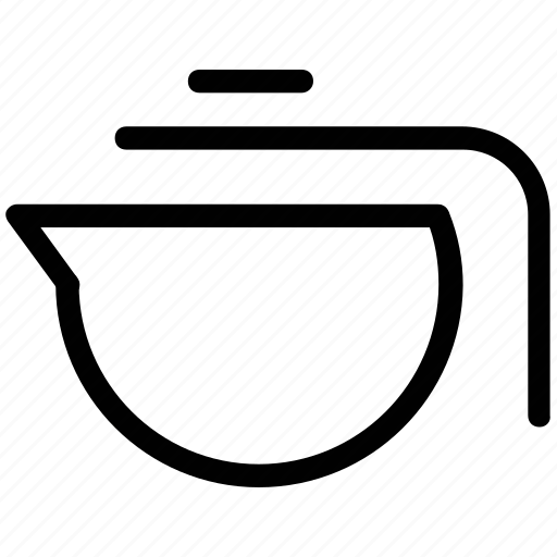 kettle, tea kettle, teakettle, teapot icon