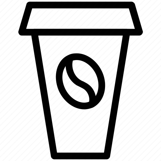 coffee cup, cold coffee, cold coffee cup, disposable coffee cup icon